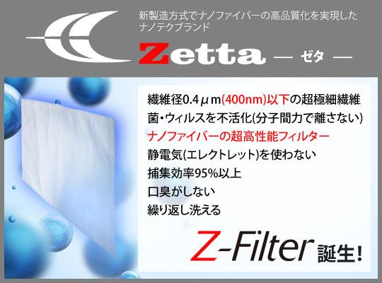 ナノファイバー Z-Filter